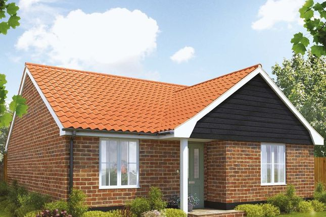 Thumbnail Detached bungalow for sale in Brumstead Road, Stalham, Norwich