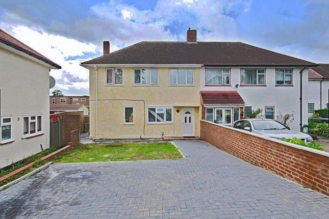 Thumbnail Semi-detached house for sale in Chaplin Road, Wembley