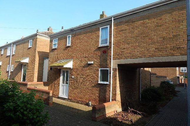 Thumbnail Terraced house to rent in Gimber Court, Huntingdon