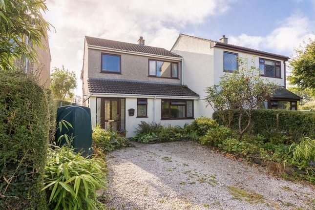 Thumbnail Semi-detached house for sale in Back Lane, Tregony, Truro