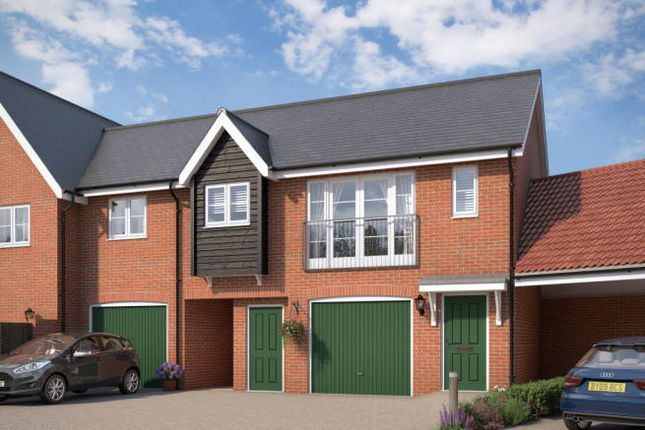 Thumbnail Flat for sale in The Osprey At Countryside At Chesterwell, Mile End, Colchester, Essex