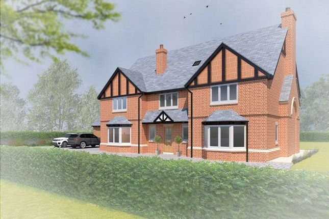 Thumbnail Detached house for sale in Pinewood Road, Ashley Heath, Market Drayton