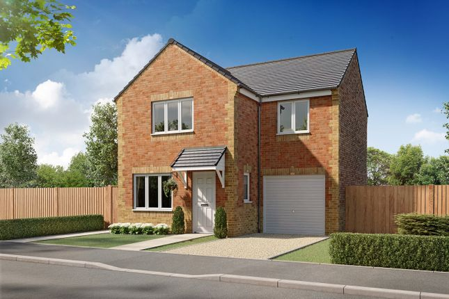 Thumbnail Detached house for sale in Plot 64, Kildare, Greymoor Meadows, Kingstown Road, Carlisle