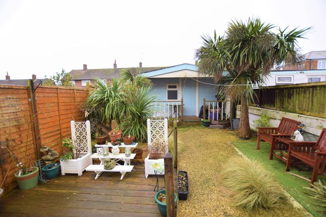 Rear Garden  of Priory Road, Eastbourne BN23