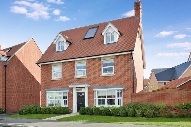 Thumbnail Detached house to rent in Burgattes Road, Priors Green, Takeley