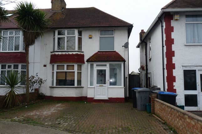 Thumbnail Semi-detached house for sale in Woodfield Avenue, Wembley