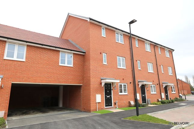 Thumbnail Terraced house for sale in Horseshoe Crescent, Houghton Conquest, Bedford