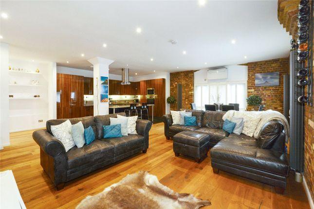Reception Room of Telfords Yard, London E1W