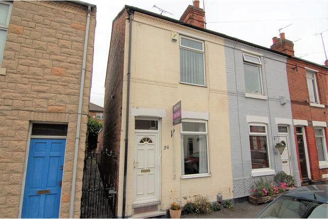 Thumbnail End terrace house for sale in Lichfield Road, Sneinton