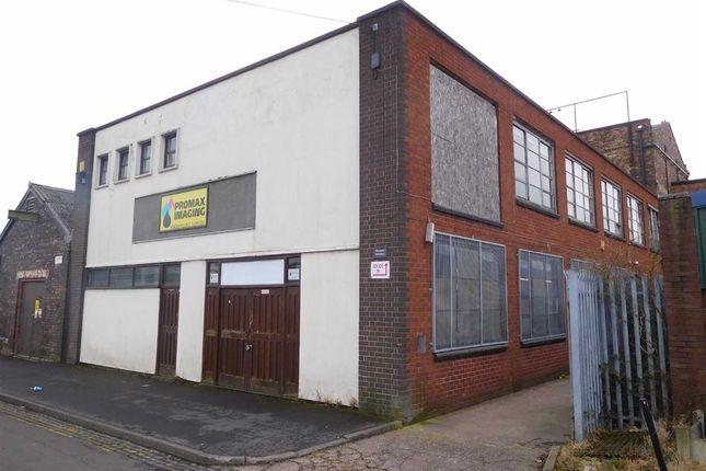 Thumbnail Light industrial for sale in Hampton Street, Stoke-On-Trent, Staffordshire