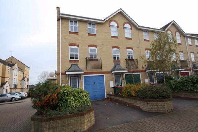Thumbnail End terrace house to rent in Beckton E6, Beckton, London