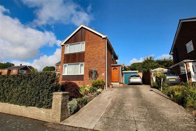 Thumbnail Detached house for sale in Hafod Park, Mold, Flintshire