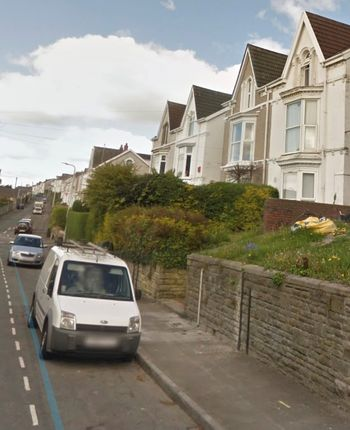Thumbnail End terrace house to rent in Brynmill Crescent, Brynmill, Swansea