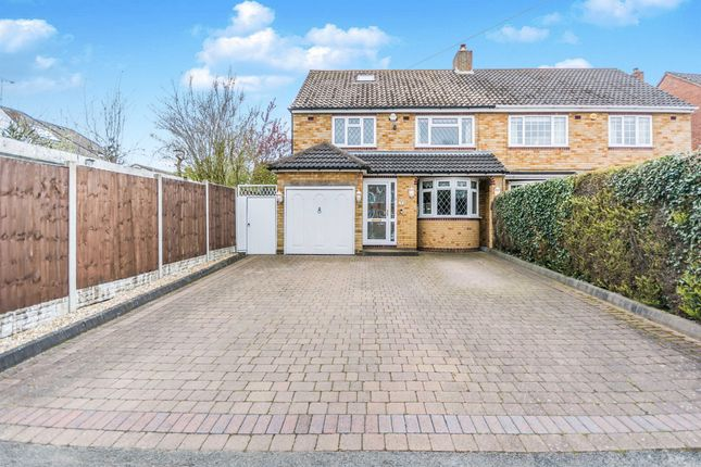 Thumbnail Semi-detached house for sale in Rushleigh Road, Shirley, Solihull