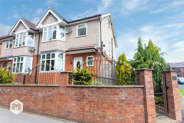 Thumbnail Semi-detached house for sale in Green Lane, Bolton, Greater Manchester