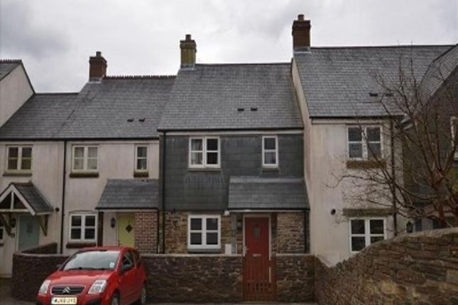 Thumbnail Terraced house for sale in 6 Fosters Meadow, St. Anns Chapel, Gunnislake