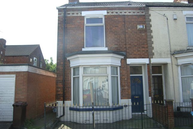 Thumbnail End terrace house to rent in Wharncliffe Street, Hull