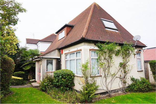 Thumbnail Detached bungalow for sale in Hillcrest Avenue, London