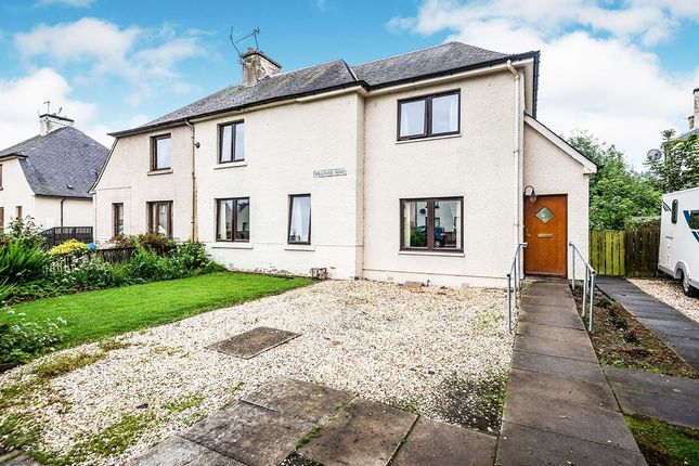 Thumbnail Semi-detached house for sale in Millcraig Road, Dingwall, Ross-Shire