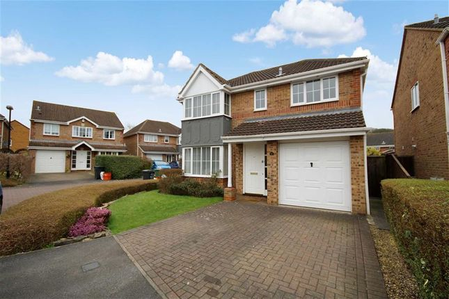 Thumbnail Detached house for sale in Greenwich Close, Abbey Meads, Swindon