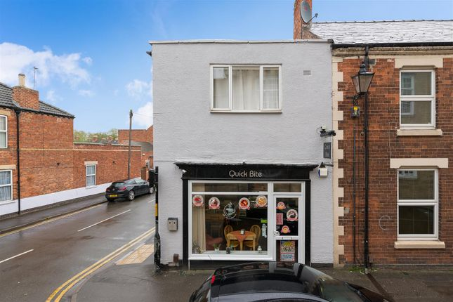 Thumbnail End terrace house for sale in Castlegate, Grantham