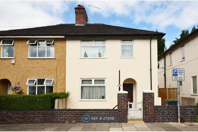 Thumbnail Semi-detached house to rent in Egerton Road, Stoke-On-Trent
