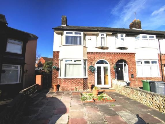 Thumbnail End terrace house for sale in Windsor Close, New Ferry, Wirral, Merseyside