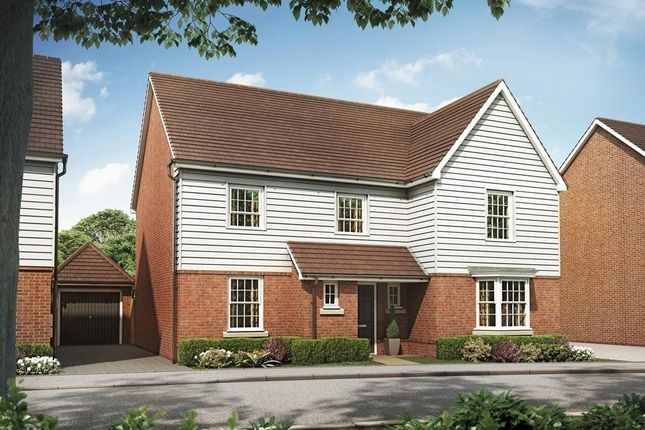 "Thumbnail Detached house for sale in ""Manning"" at Marden Road, Staplehurst, Tonbridge"