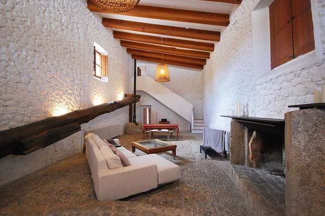 Living Room of Valldemossa, Majorca, Balearic Islands, Spain