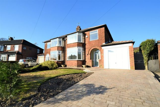 Thumbnail Semi-detached house for sale in Maple Grove, Walkden, Manchester