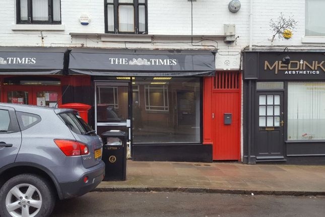 Thumbnail Retail premises to let in Francis Street, Stoneygate, Leicester