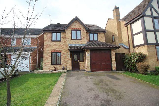 Thumbnail Detached house for sale in Lake Way, Stukeley Meadows, Huntingdon, Cambridgeshire.