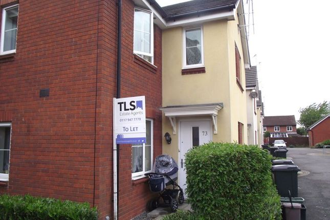 Thumbnail End terrace house to rent in Tarnock Avenue, Hengrove, Bristol