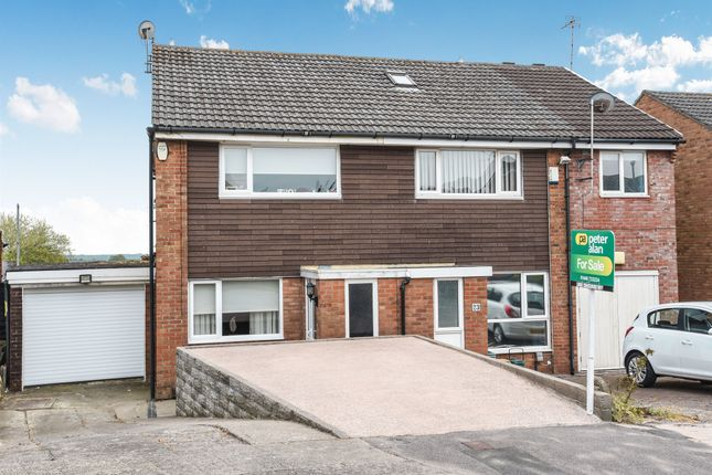 Thumbnail Semi-detached house for sale in Lydstep Road, Barry