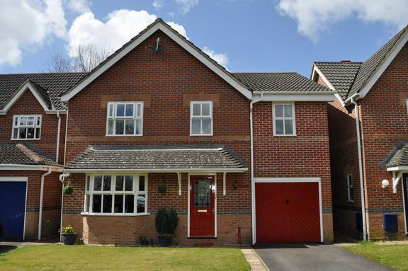 Thumbnail Detached house for sale in Clarke Close, Uffculme, Cullompton