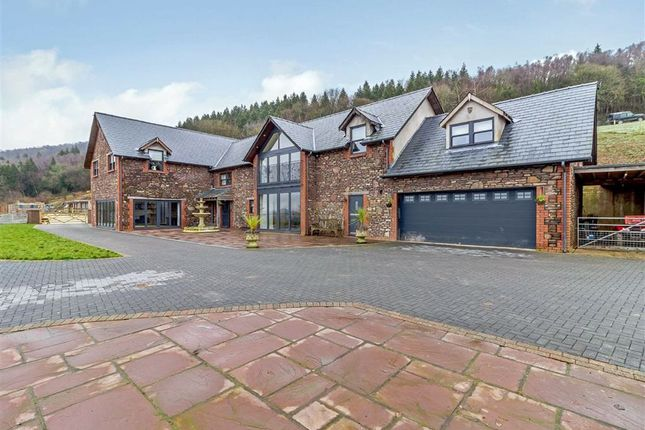 Thumbnail Detached house for sale in Coed Y Caerau Lane, Kemeys Inferior, Newport