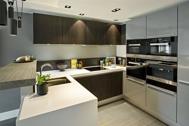Kitchen of Young Street, London W8