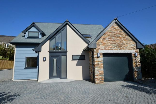 Thumbnail Detached house for sale in Shop Park, Lower Tremar, Liskeard, Cornwall