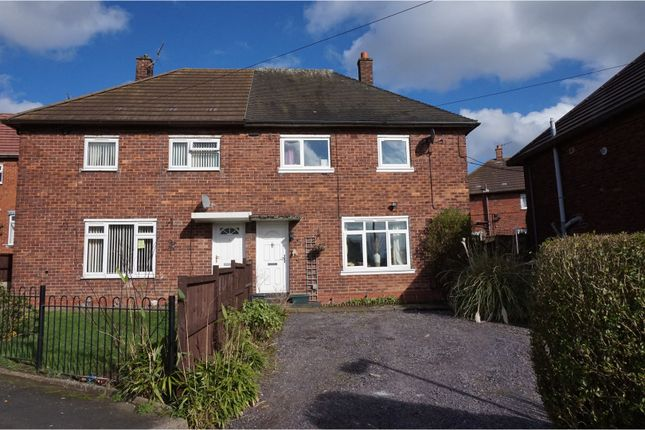 Thumbnail Semi-detached house for sale in Dividy Road, Stoke-On-Trent
