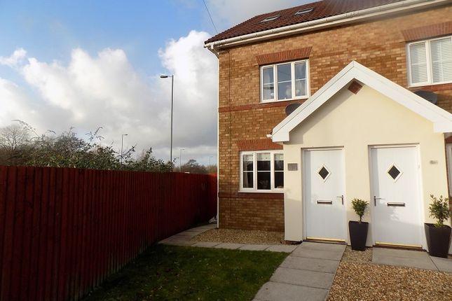 Thumbnail Semi-detached house for sale in Rowan Tree Avenue, Baglan, Port Talbot, Neath Port Talbot.