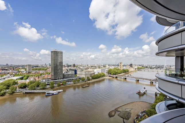 Thumbnail Flat for sale in Corniche, Albert Embankment, London