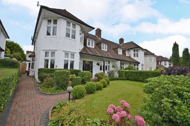 Thumbnail Semi-detached house to rent in Outstanding Period House, Woodville Road, Newport