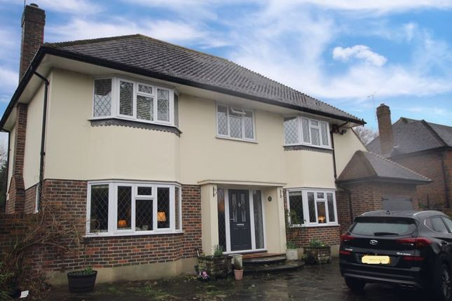 Thumbnail 4 bed detached house to rent in Links Road, Epsom