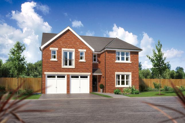 "Thumbnail Detached house for sale in ""Kingsmoor"" at Church Road, Warton, Preston"