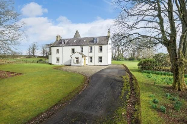 Thumbnail Detached house for sale in Monkredding House, Kilwinning, Ayrshire