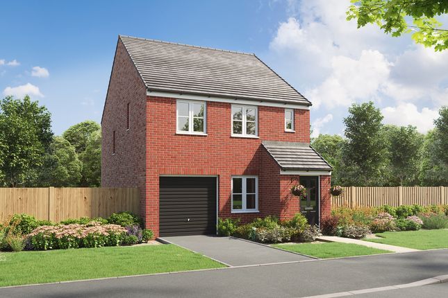"""Thumbnail Detached house for sale in """"The Delamare"""" at Heol Stradling, Coity, Bridgend"""