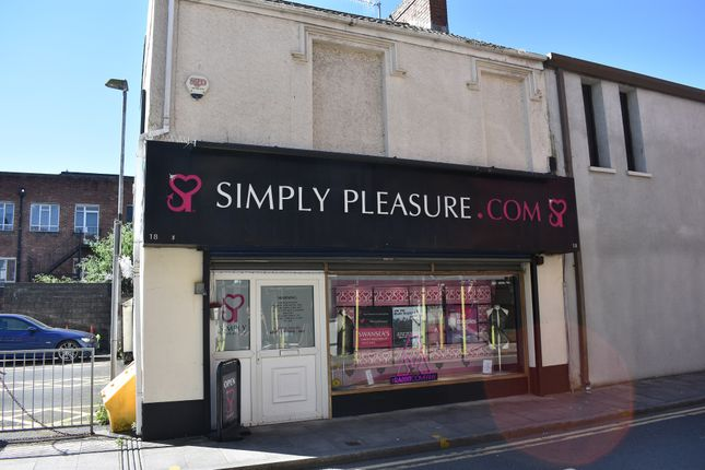 Thumbnail Retail premises for sale in Park Street, Swansea