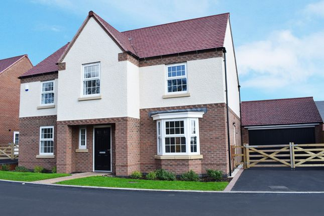 "Thumbnail Detached house for sale in ""Winstone"" at Primrose Close, East Leake, Loughborough"