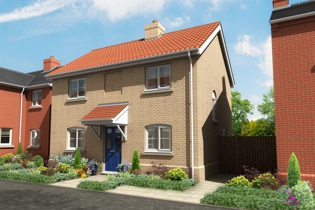 Thumbnail Detached house for sale in Leveret Gardens, Stowfields, Downham Market