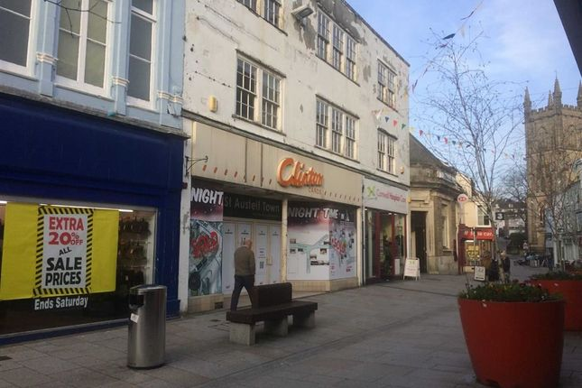 Thumbnail Retail premises to let in 18, Fore Street, St Austell, Cornwall